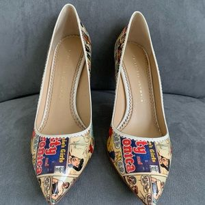 """Charlotte Olympia Shoes - Charlotte Olympia """"Archie"""" kitten heels. Size 39"""